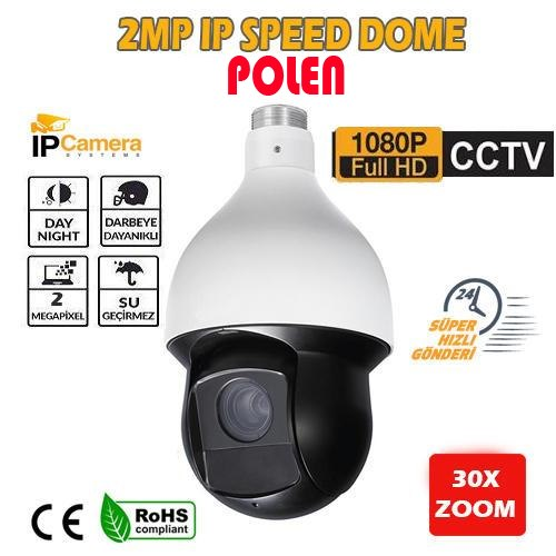 2 MEGAPİKSEL FULL HD WDR IR SPEED DOME IP KAMERA PL-2230