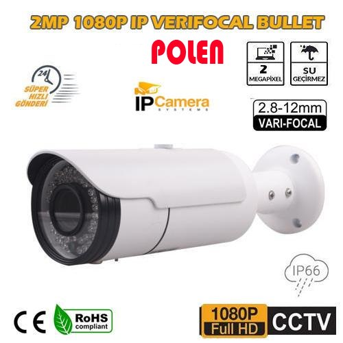 2MP IP BULLET KAMERA 2.8-12MM LENS PL-5260