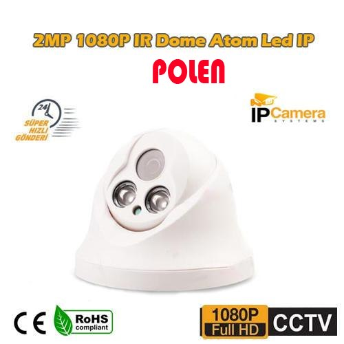 2MP 1080P IR Dome Atom Led IP Kamera PL-5230