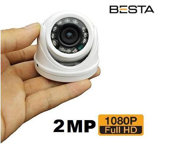 2MP 1080P 2.8MM 12 LED BT-126 DOME ARAÇ KAMERASI PL-126