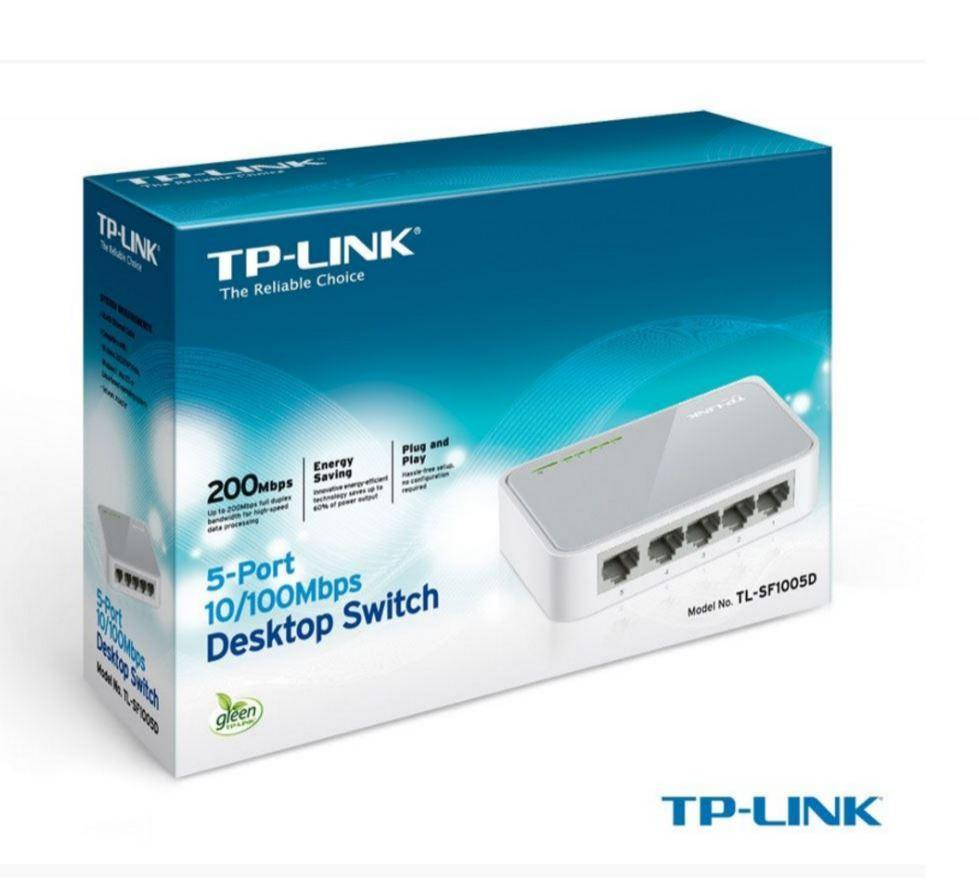 Tp-Link TL-SF1005D 5 Port 10/100 Switch