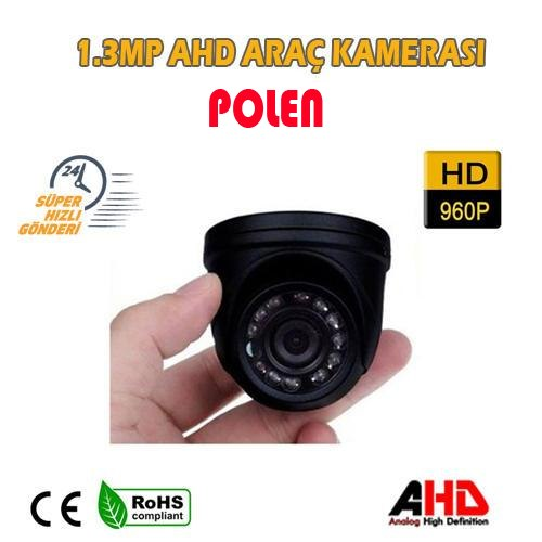 1.3 MP 2.8 MM 12 LED BT-123 DOME ARAÇ KAMERASI PL-123