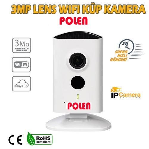 3mp PREMİUM DAHUA PL-3017 3MP CUBE WİFİ GÜVENLİK KAMERASI